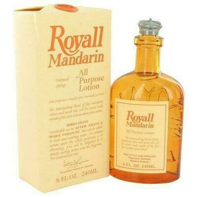 Royall Mandarin By Royall Fragrances All Purpose Lotion / Cologne 8 Oz (pack of 1 Ea)