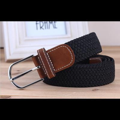 Braided Elastic Stretch Belt