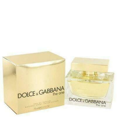 The One By Dolce & Gabbana Eau De Parfum Spray 2.5 Oz (pack of 1 Ea)
