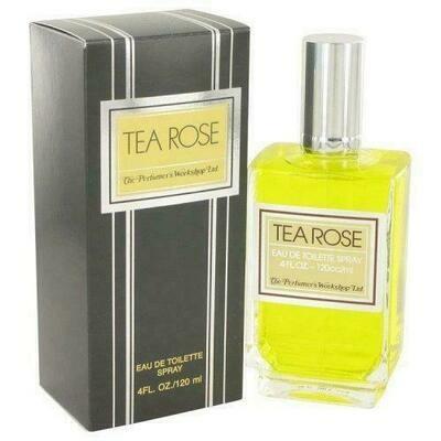 Tea Rose By Perfumers Workshop Eau De Toilette Spray 4 Oz (pack of 1 Ea)
