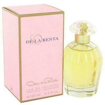 So De La Renta By Oscar De La Renta Eau De Toilette Spray 3.4 Oz (pack of 1 Ea)