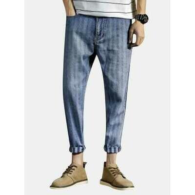 Stylish Striped Harem Pants Designer Jeans