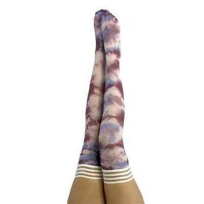 Kixes Madisen Blue/Purple Tie Dye Size A