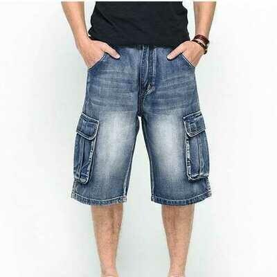 Big Size Denims Shorts For Men