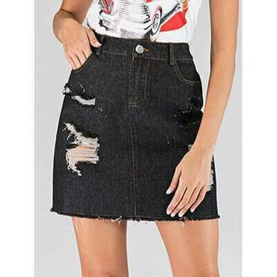 Casual Tassels Ripped Jeans