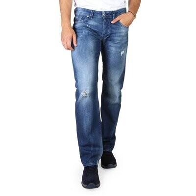 Diesel Men's Blue Denim Jeans