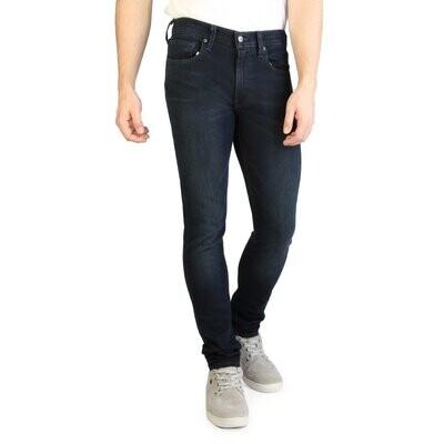 Levis Men's Skinny Fit Denim Jeans - Blue / Black