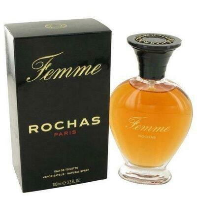 Femme Rochas By Rochas Eau De Toilette Spray 3.4 Oz (pack of 1 Ea)