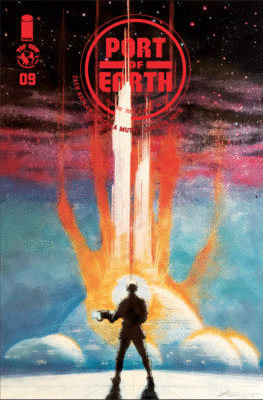 Port of Earth #9 Cover B