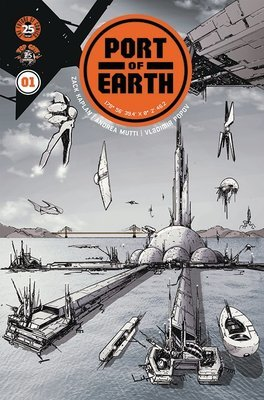 Port of Earth #1 Signed Cover A (Andrea Mutti)