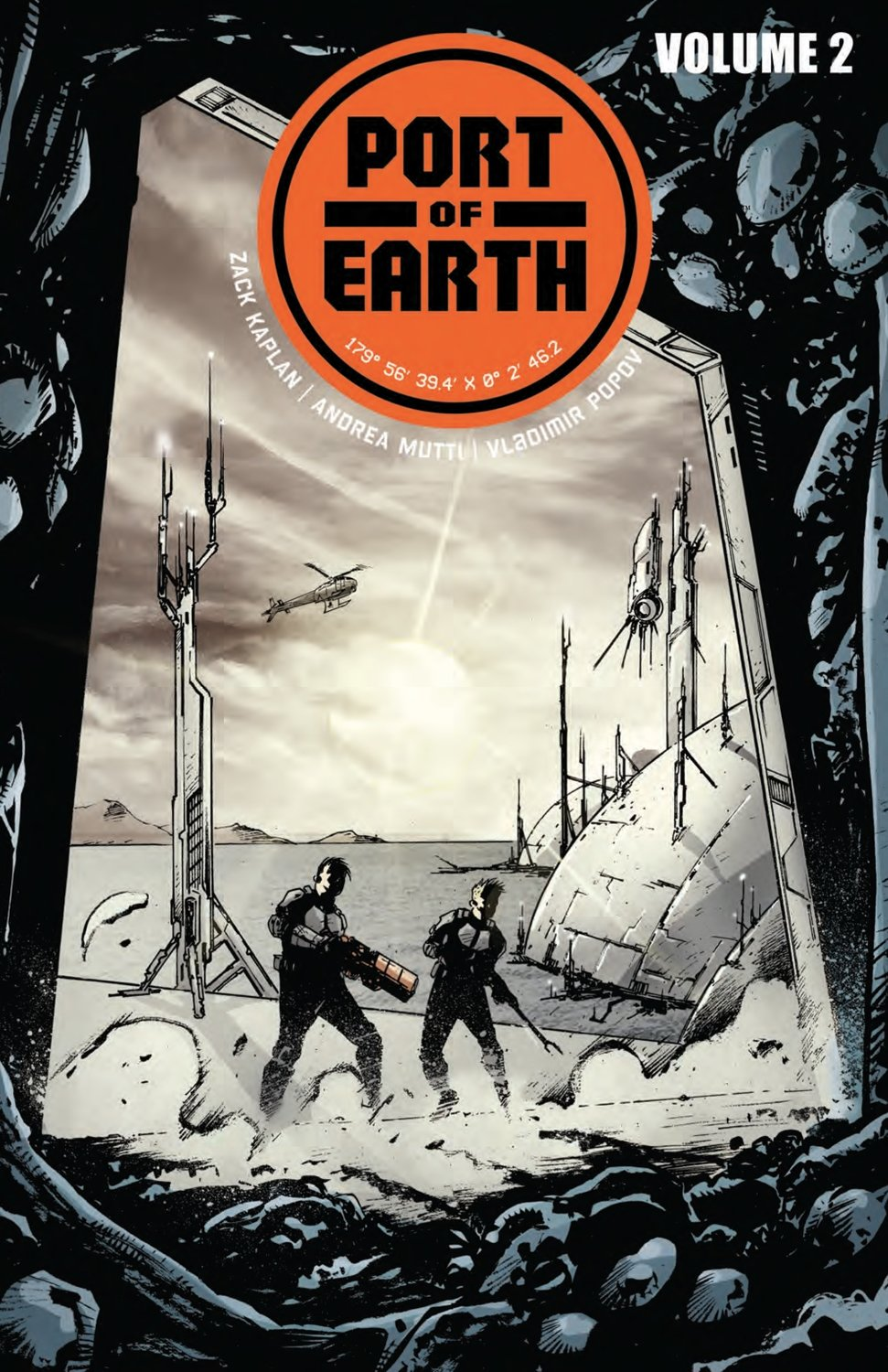 Port of Earth Signed Vol 2 TPB