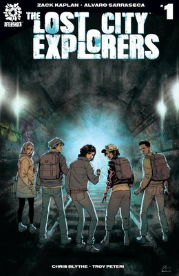 The Lost City Explorers #1 Cover A (Rafael De Latorre)