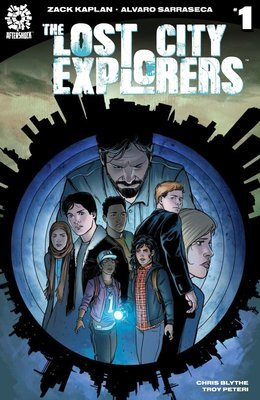 The Lost City Explorers #1 Cover B (Alvaro Sarraseca)