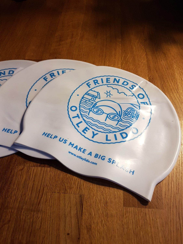 Silicone Swim Cap 'Otley Lido' branded