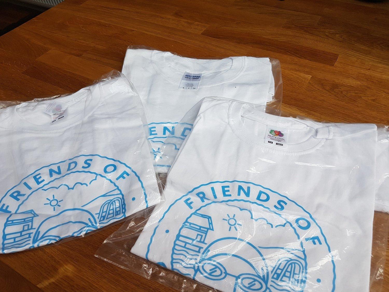 Exclusive White Otley Lido T-shirts
