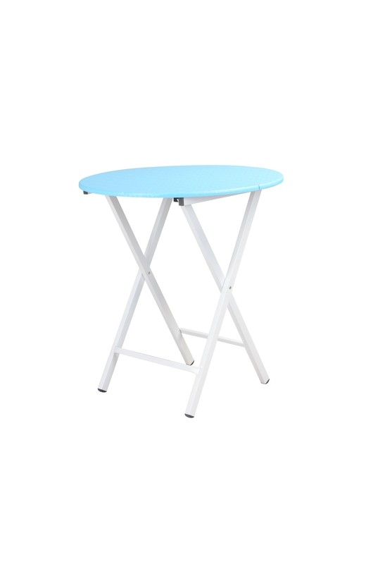 Foldable Table (Boot Round Blue)