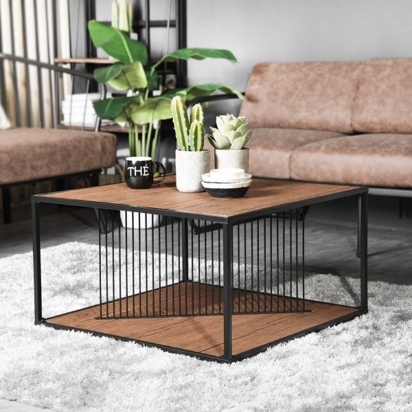 Modern Coffee Table (Line Flak)