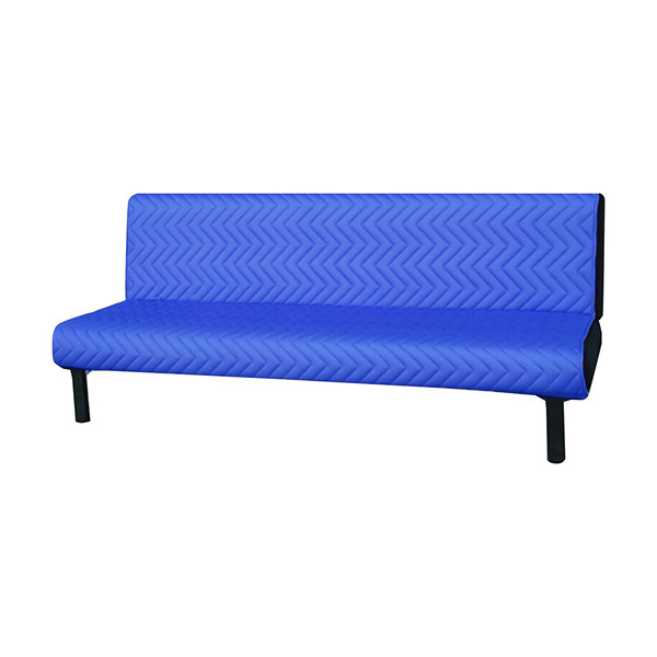 Modern Sofa Bed with free cushion - Blue
