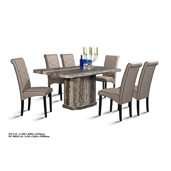 Classy Marble Dining Set