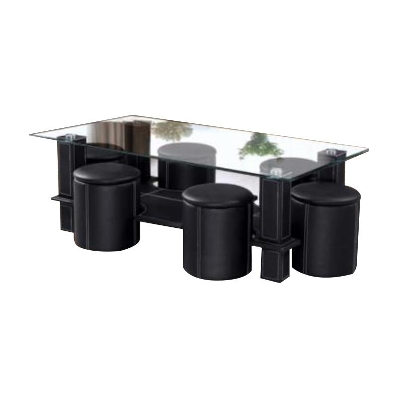 Coffee Table 1+6 set (Nuremerg 7pcs)