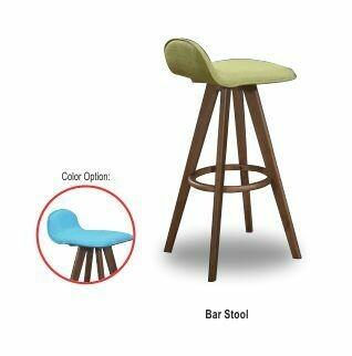 Bar chair (Green/Blue)