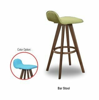Bar chair (Green/Blue)