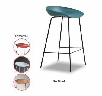 Bar Stool (Blue/Red/White/Gold)