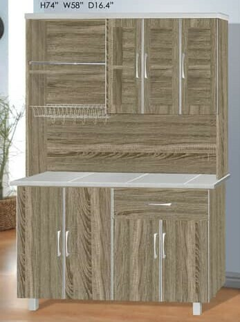 5' High Kitchen Cabinet