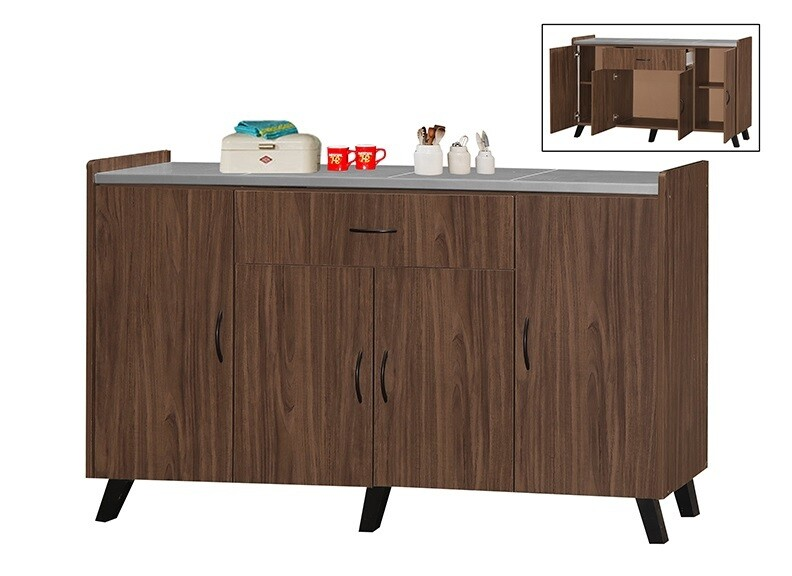 3' Low Kitchen Cabinet