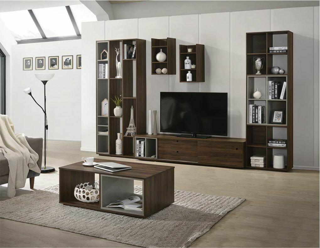 6' Tv Cabinet with slider door