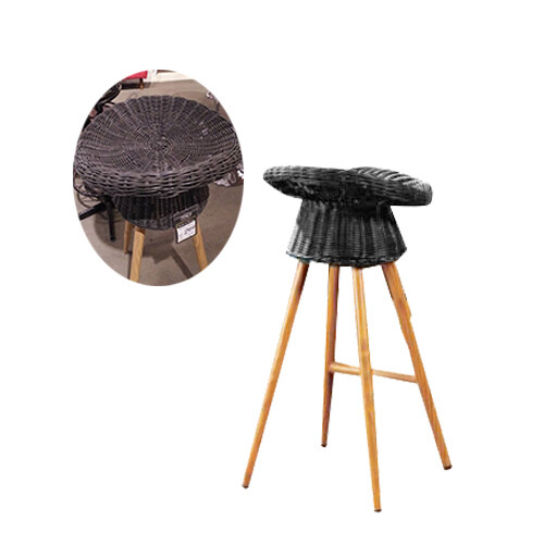Garden Bar Chair (Rattan/Rope)
