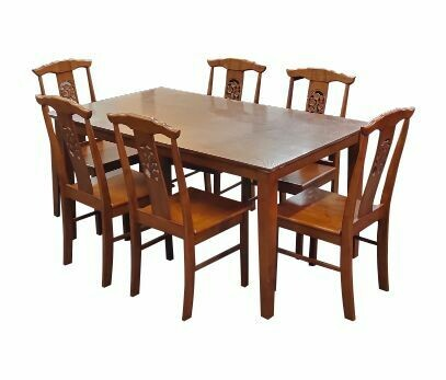 Dining Set with 6 Chairs