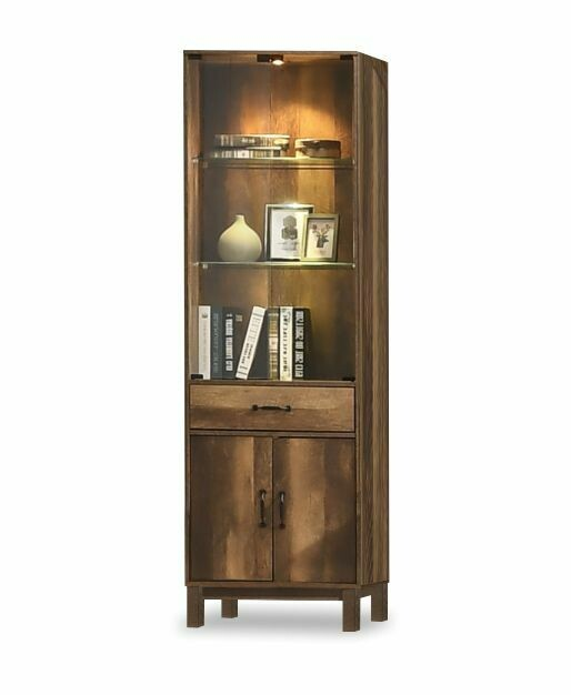 6' Classic Display Cabinet with Glass