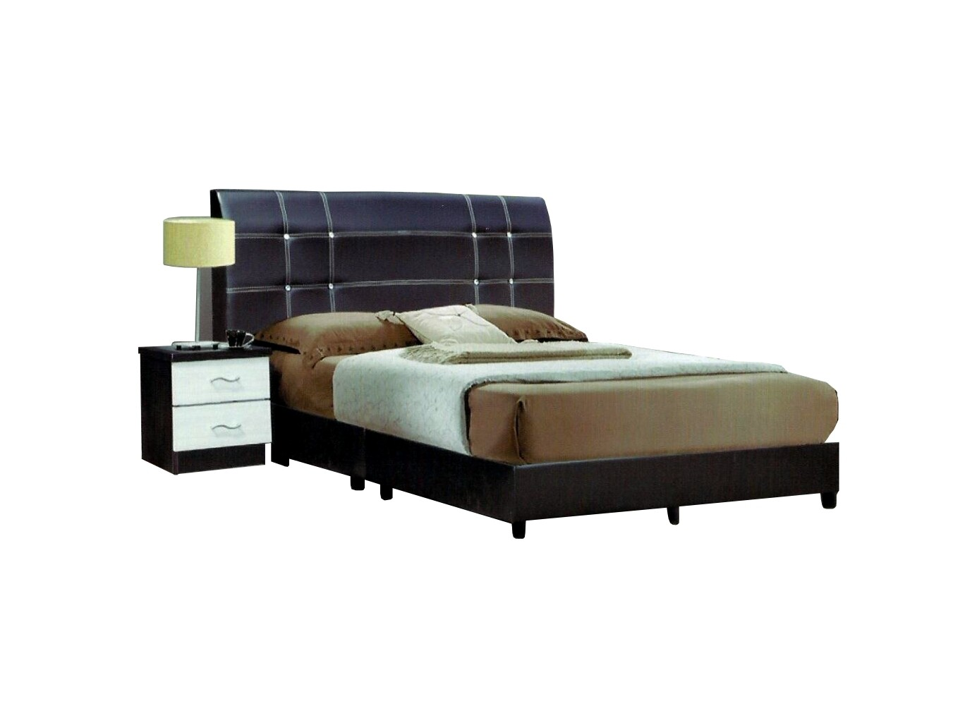 PVC Divan Bed - Queen Size