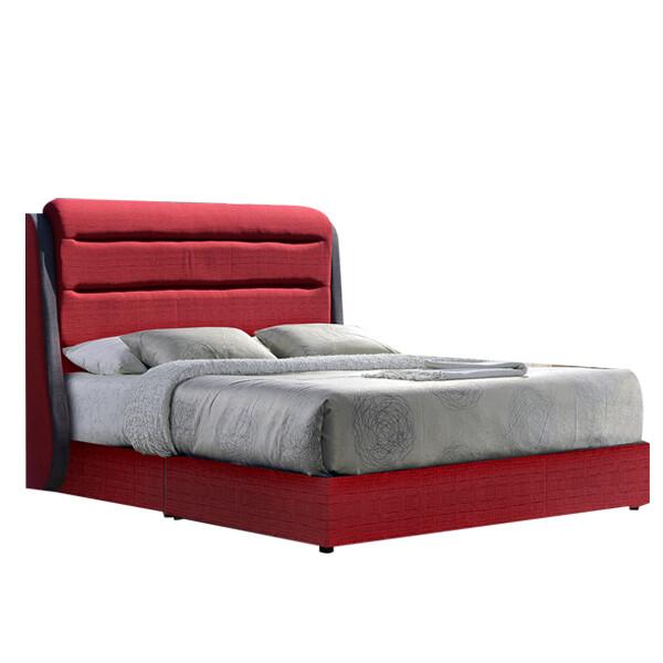 Fabric Divan Bed - Queen Size