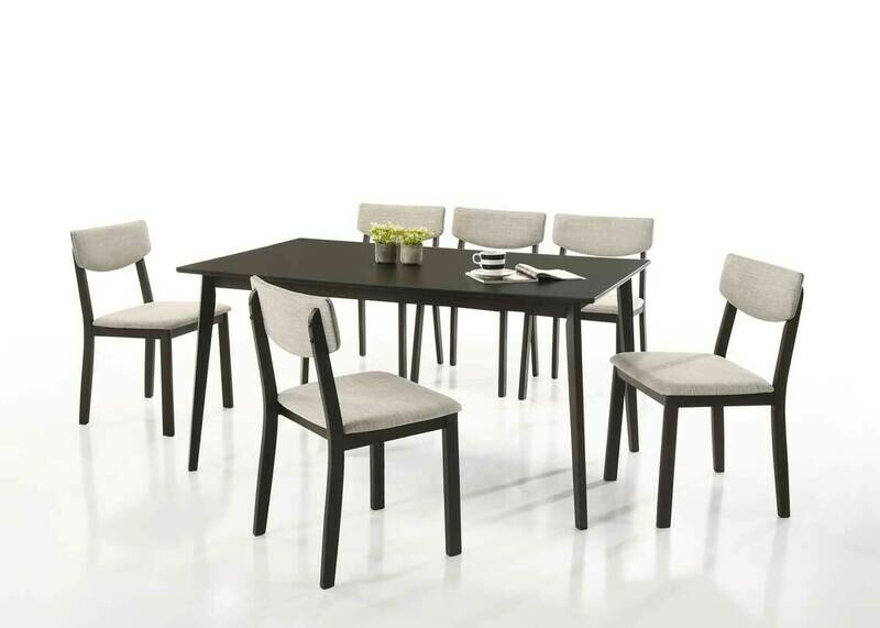 1+6 Wooden Dining Set