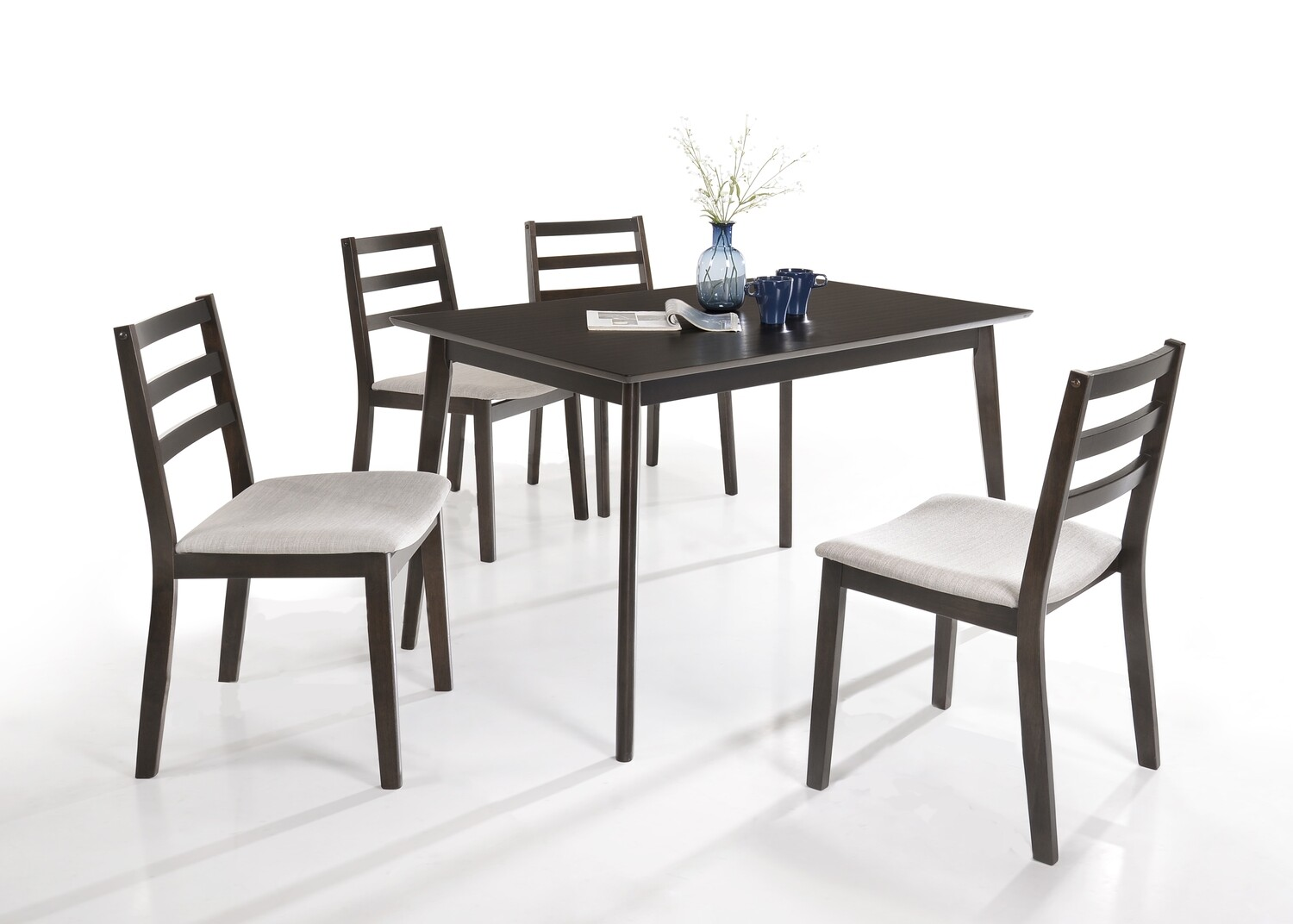 1+4 Wooden Dining Set