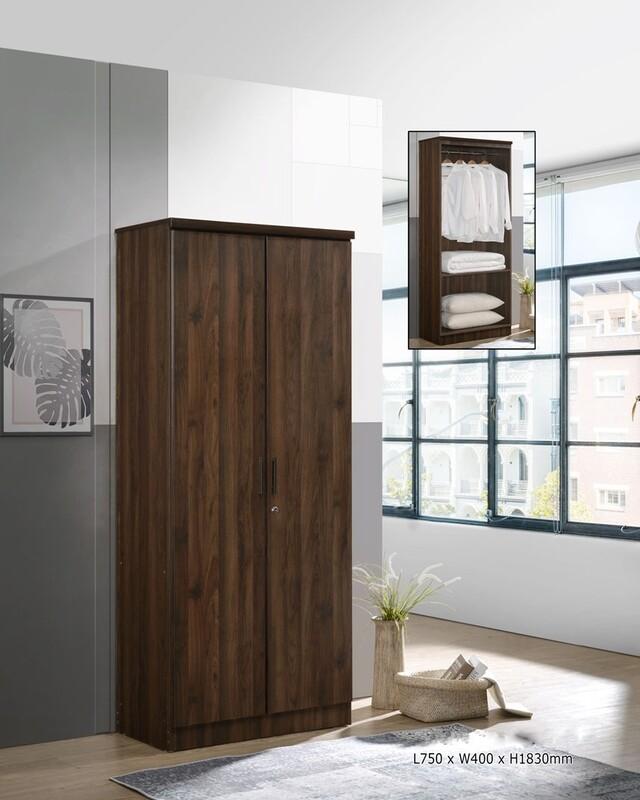 2 Doors wardrobe