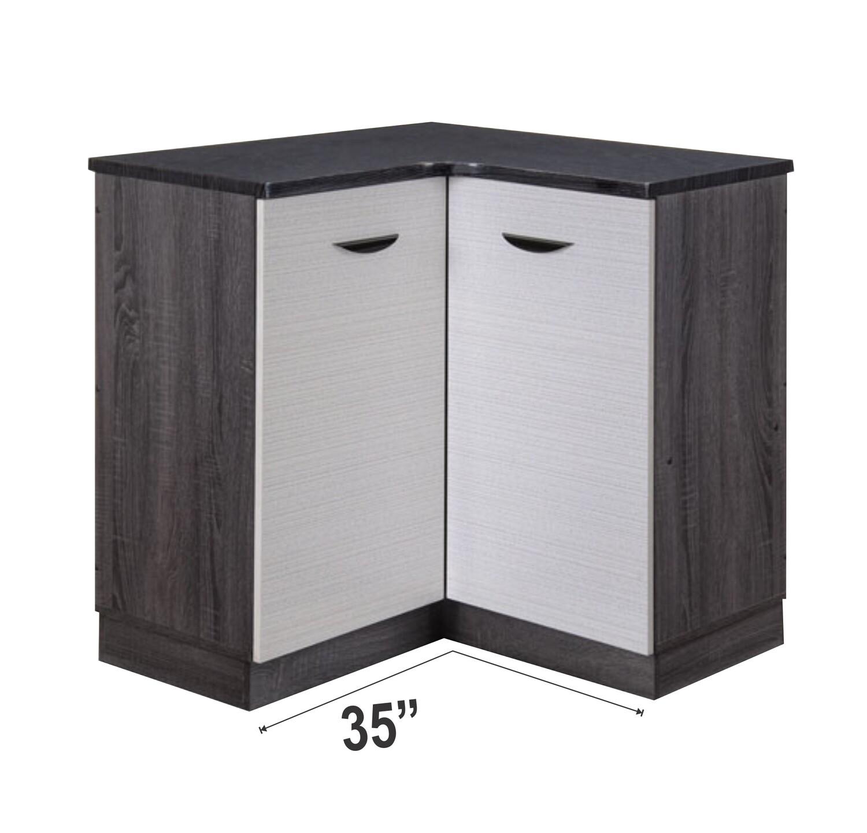 3' Corner Kitchen Cabinet