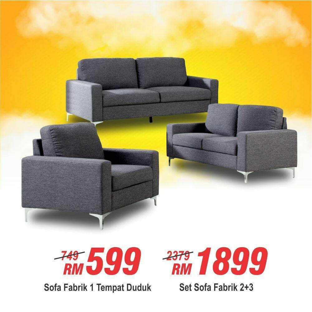 Fabric 2+3 Sofa/Fabric 1 seater sofa