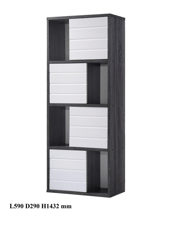 4 Doors Display Cabinet