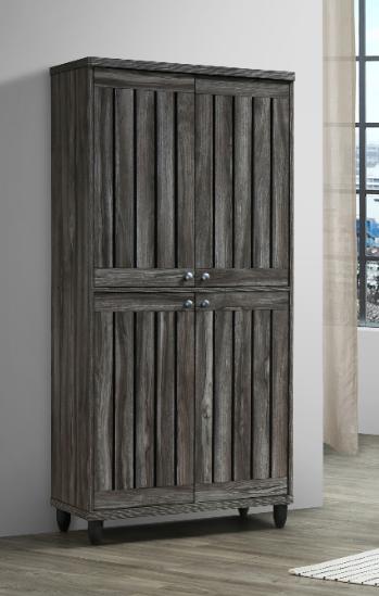 4 Doors Shoes Cabinet