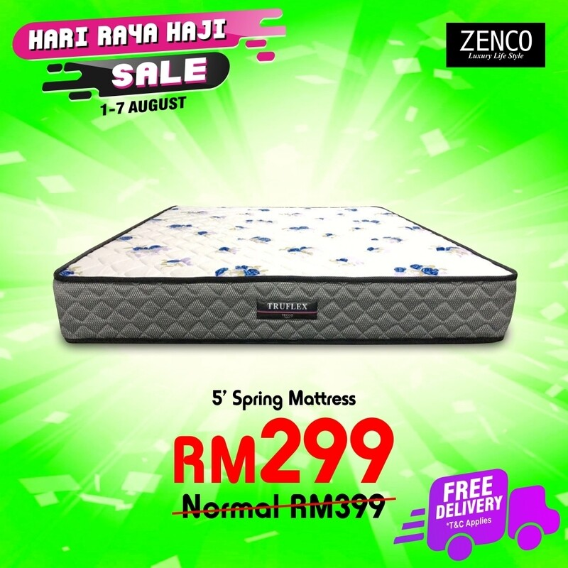 [FREE DELIVERY] Spring Mattress - Queen Size