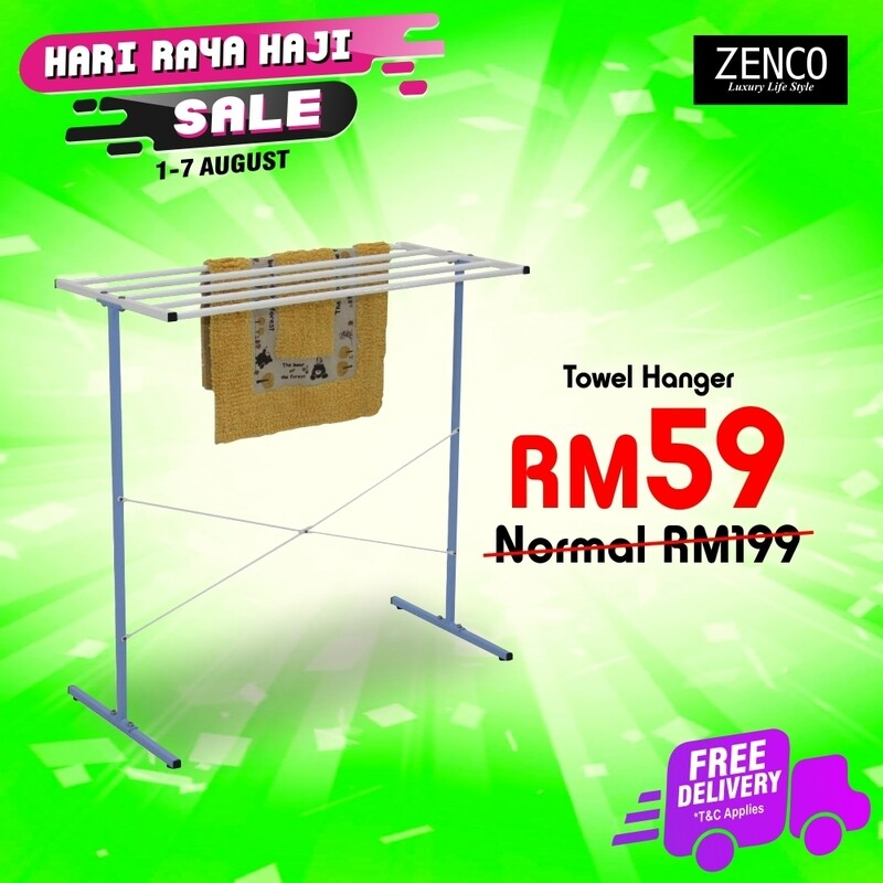 [FREE DELIVERY] 2 Tier Clothes Hanger