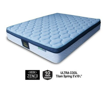 ZENCO | Ultra Cool Spring Mattress (Queen Size) - 10.5 inch
