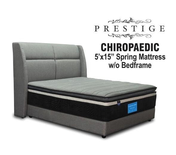 5ft X15 inch Chiropedic Spring Mattresss - Queen