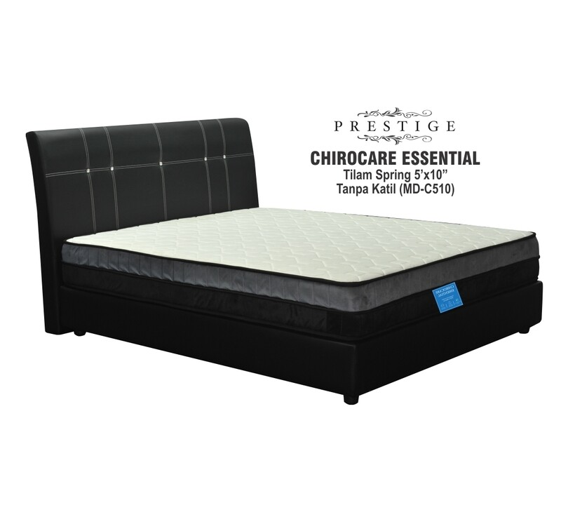 5ft X10 inch Chiro Essential Spring Mattress - Queen