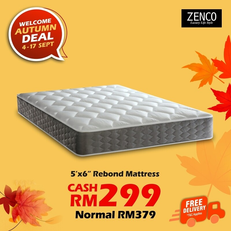 [FREE DELIVERY] Rebond Queen Mattress
