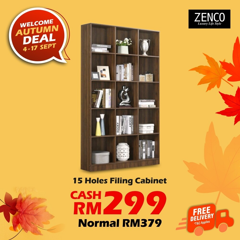[FREE DELIVERY] 15 Holes Filing Cabinet