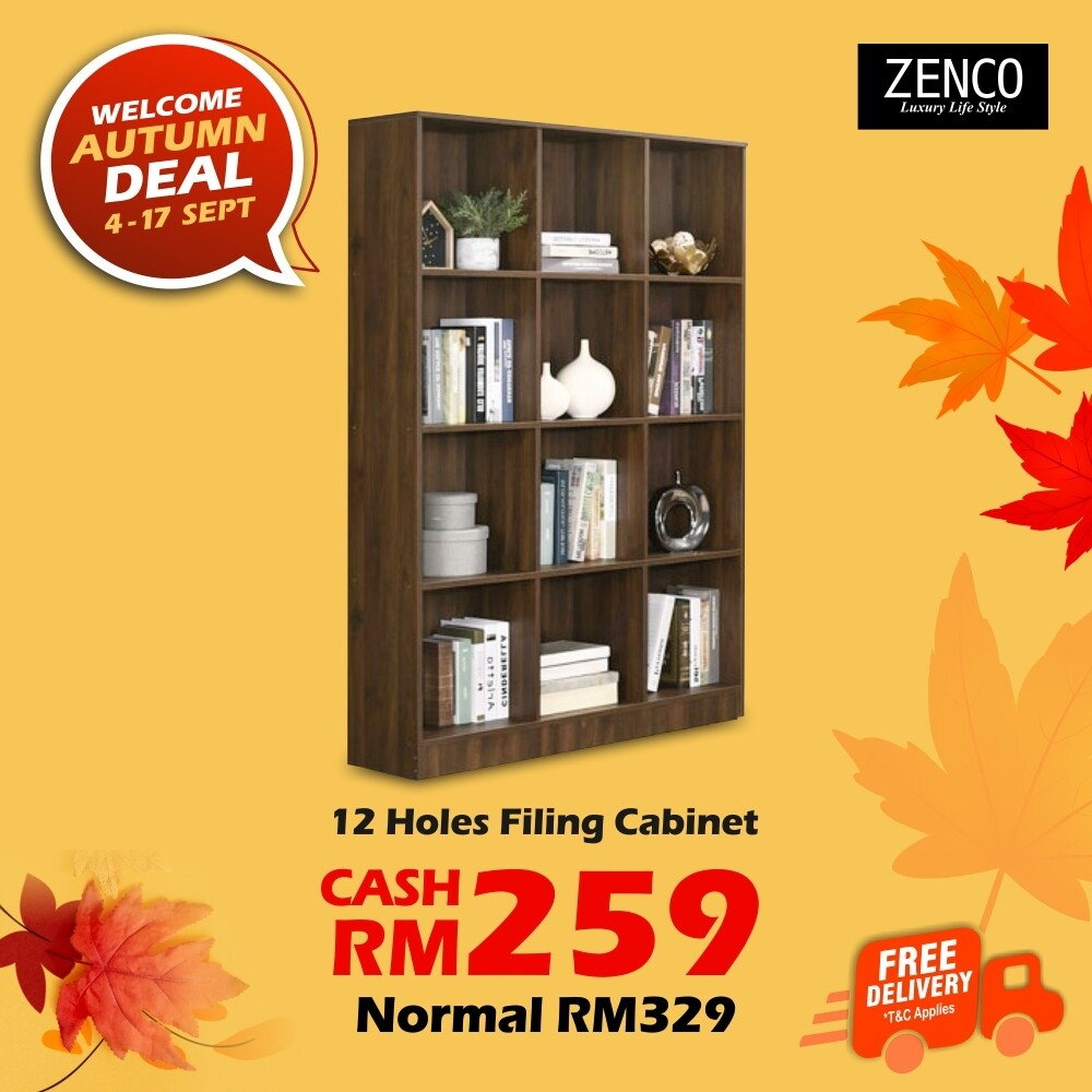 [FREE DELIVERY] 12 Pigeon Holes Filing Cabinet